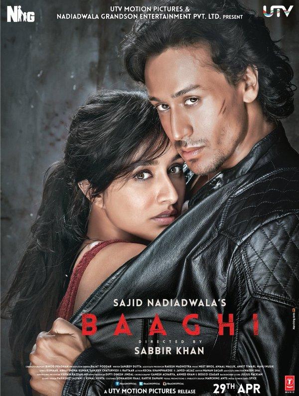 Baaghi movie trailer