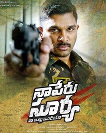 Naa Peru Surya movie trailer
